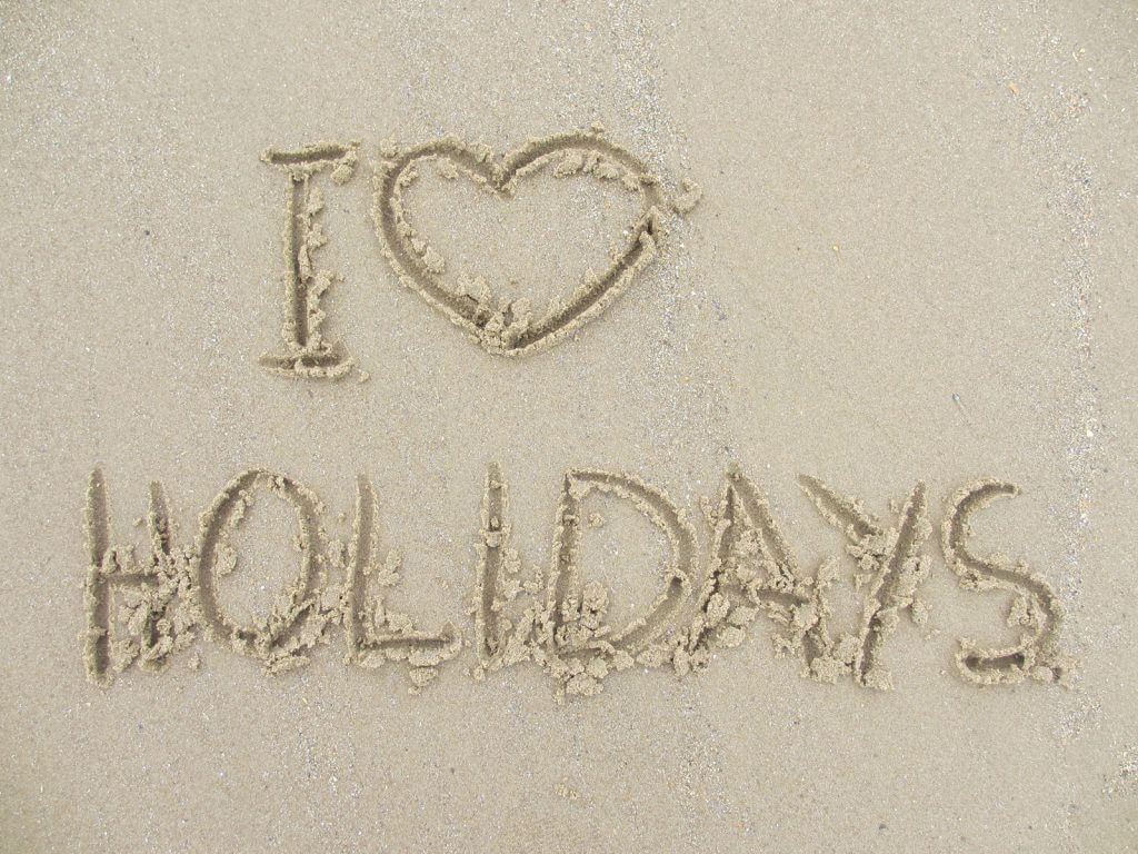 I love holidays