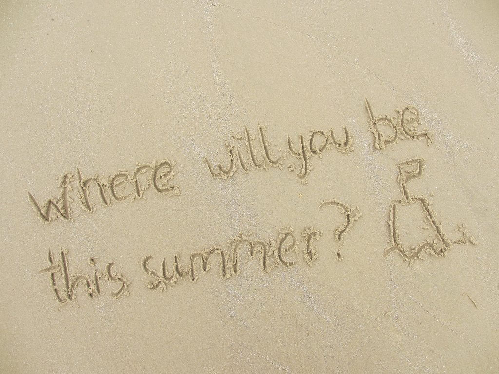 Where will you be this summer?