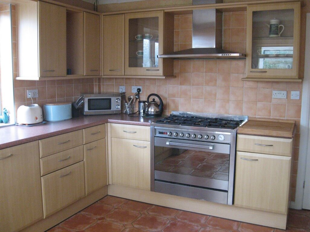 View of kitchen at Gower edge