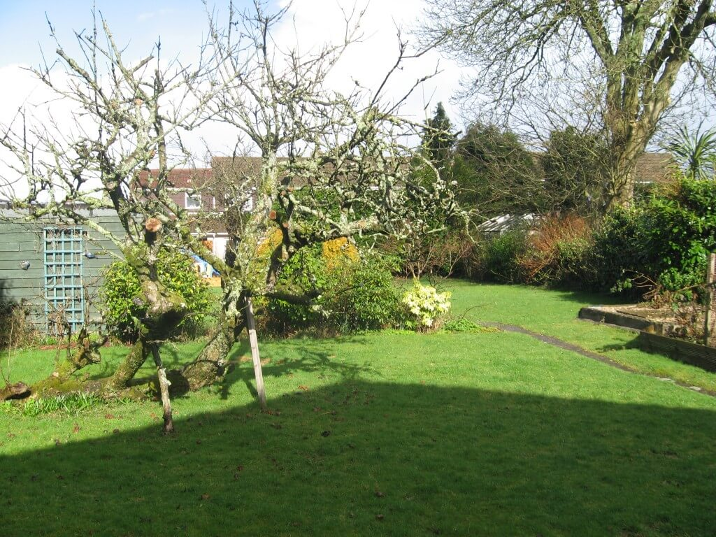 There is a secluded garden to the rear of the property.